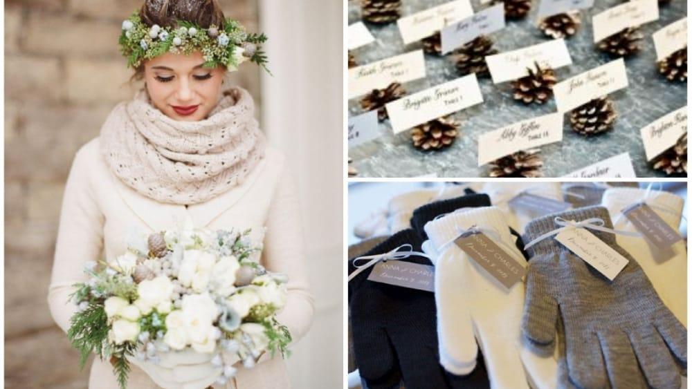 Segnaposto Matrimonio Invernale.Sposarsi In Inverno Blog